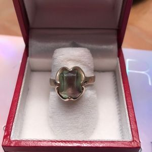 Sterling silver color Changing Stone